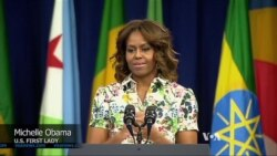 Michelle Obama: Young Africans Need to Embrace Women's Rights
