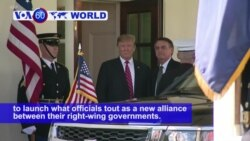VOA60 World PM - 'Trump of the Tropics' Visits White House