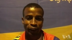 JO 2016: L'athète tchadien de 400 m Bachir Mahamat