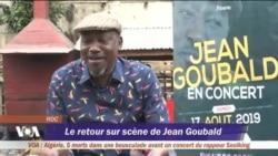Le retour sur scène de Jean Goubald