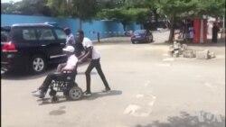 Difficile intégration des handicapés en Côte d'ivoire (vidéo)