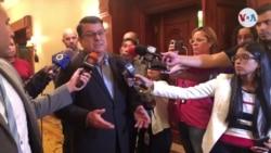 """Venezuela: diputados sancionados consideran """"inaceptable"""" medida de EE.UU."""