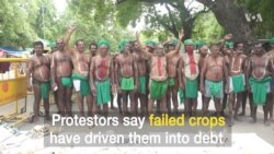 South Indian Farmers Want Loans Forgiven