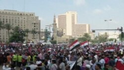 ການເດີນ ຂະບວນ ຕ້ານທ່ານ Morsi ຢູ່ໃນອີຈິບ