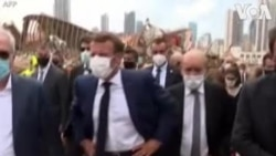 Ziara ya Rais wa Ufaransa Emmanuel Macron Beirut