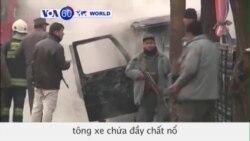Taliban tấn công xe của sứ quán Thổ Nhĩ Kỳ ở Kabul (VOA60)