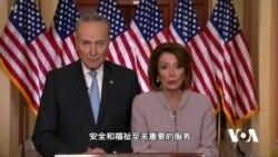 民主党领袖对特朗普有关边境安全和政府关门问题讲话的回应全文(中文字幕)