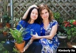 Kimberly Ha and her mom. (Photo courtesy Kimberly Ha)