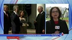 جزئیاتی از مراسم سوگند عضو جدید دیوان عالی آمریکا