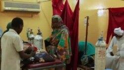 Visite des hôpitaux par les autorités soudanaises