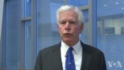 退休军事教授科尔受访谈亚太同盟关系原声视频
