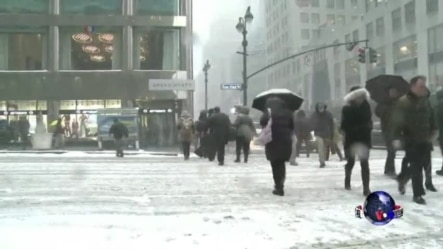 史上最强暴风雪席卷美东 纽约全城戒备