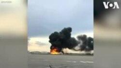 При пожаре самолета в Шереметьево погиб 41 человек