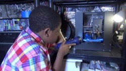 Boy Makes His Mark with 3-D Printing