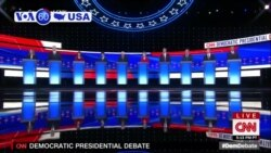 VOA60 America - Senators Warren, Sanders Under Attack at Democrats' Presidential Debate
