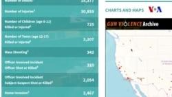 2017-ci ildə ABŞ silah zorakılığına görə rekord əldə edib
