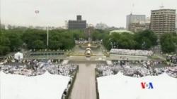 2014-08-06 美國之音視頻新聞: 日本紀念廣島原子彈爆炸69週年