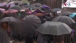 کشمیر: علیحدگی پسند کمانڈر کے جنازے میں لوگوں کی شرکت