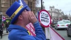 British Protesters Demand Vote On Brexit Deal