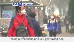 Trung Quốc ban hành 'báo động đỏ' (VOA60)
