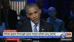 اوباما در جمع نظامیان از اعزام ۶۰۰ نیروی جدید به عراق خبر داد