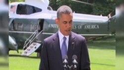 سخنرانی اوباما پيرامون موضع آمريکا درباره رويدادهای عراق