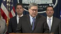 過千名前司法部官員聯名要求司法部長巴爾辭職
