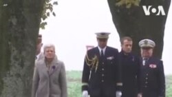 ԱՌԱՆՑ ՄԵԿՆԱԲԱՆՈՒԹՅԱՆ. Մակրոնը հարգանքի տուրք է մատուցել Երկրորդ աշխարհամարտի զոհերի հիշատակին