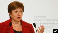 Директорка-розпорядниця МВФ Кристаліна Георгієва