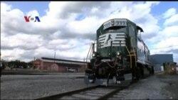Industri Kereta Api di AS Andalkan Perdagangan Internasional