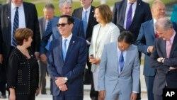 지난해 7월 프랑스 파리에서 주요 7개국 재무장관 회의가 열렸다.