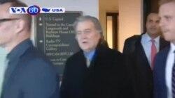 Cựu chiến lược gia trưởng Steve Banon bị thẩm vấn trong nhiều giờ