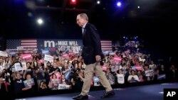 Bivši gradonačelnik Njujorka Majkl Blumberg na mitingu na Floridi
