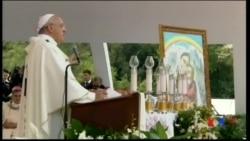 2014-09-21 美國之音視頻新聞: 教宗訪問阿爾巴尼亞