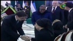 Prezident oilasiga ta'ziya