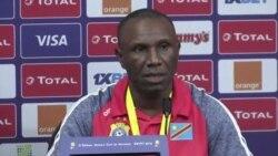 Eyano ya Ibenge na bolongwi ya ba Léopards na CAN 2019 (Vidéo)
