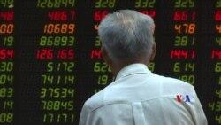 2019-08-06 美國之音視頻新聞: 美中貿易爭端加劇引發亞洲股市在週二拋售