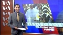 Washington Forum du 24 septembre 2015 : la visite du Pape au Etats-Unis