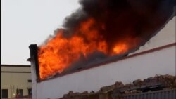 Fire in Bujumbura