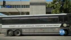 Влада Каліфорнії змушена випускати на свободу ув'язнених, які відбувають покарання за незначні злочини. Відео