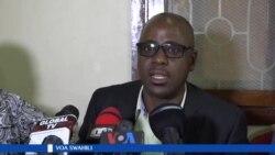 Said Kubenea, mmiliki wa gazeti la Mwanahalisi, akielezea kuhusu kufungiwa kwa gazeti hilo