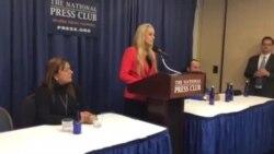 Lilian Tintori habla en el Club de Prensa