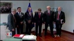 Takim në Bruksel për Maqedoninë