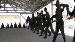 美軍北約為結束阿富汗戰爭舉行儀式