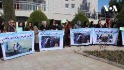 نگرانی زنان از مذاکرات صلح