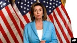 美國國會眾議院議長南希佩洛西。(2019年8月1日)