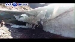 Hang động băng sập khiến một người thiệt mạng (VOA60)
