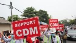 CDM ဝန်ထမ်းဆန္ဒပြမှုကို တတ်ကြွလှုပ်ရှားသူတွေ ကူညီဝန်းရံ