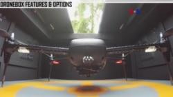 El Dronebox recarga drones sin intervención humana