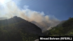 Požar u blizini Jabalnice, 12. august 2021.